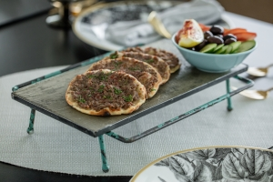Fatayer Spiced Minced Meat