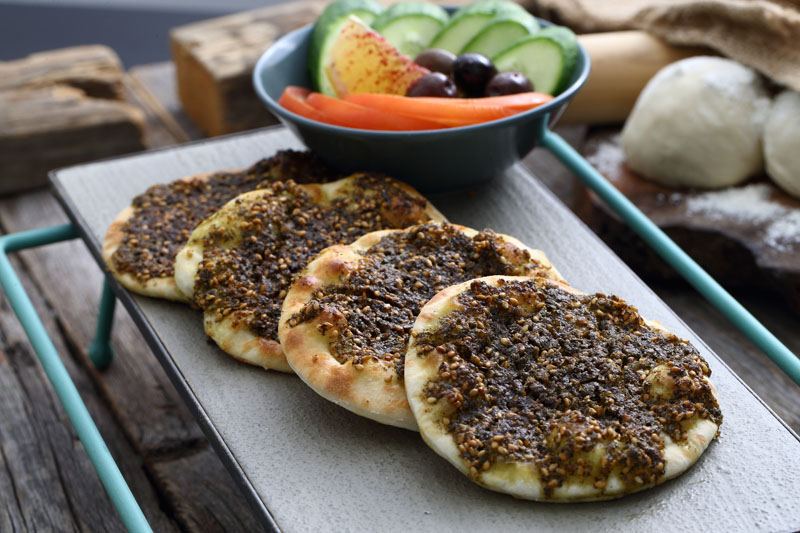 Fatayer Roll Zaatar