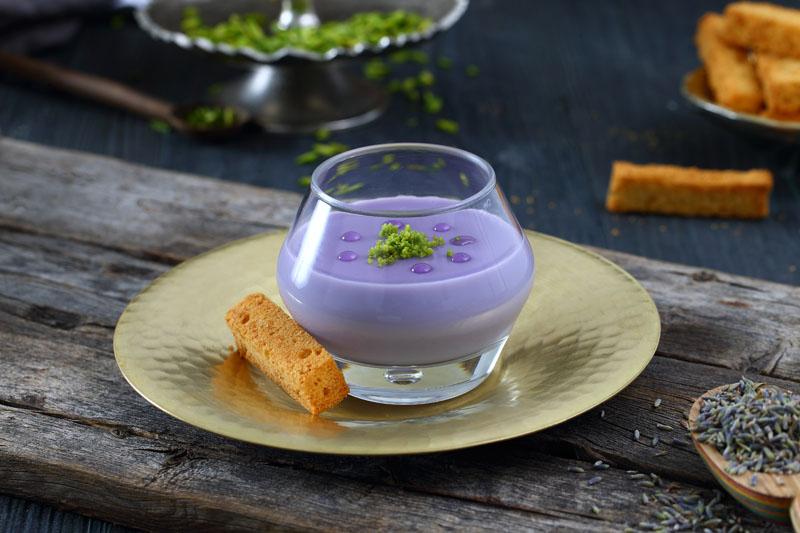 Lavender Mahalabiya